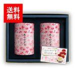 カーネーション缶 セット(上かりがね茶 特上八女茶) 50g×2 缶